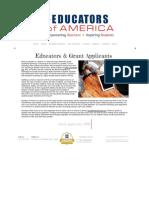 technology grants for teachers   classrooms   educators of america