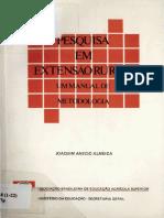 Joaquin Anecio Almeida - Pesquisa Em Extensao Rural}
