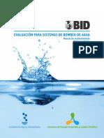 Evaluacion para Sistemas de Bombeo de Agua - Manual de Mantenimiento.pdf