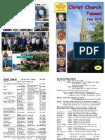 June 2018 Christ Church Magazine
