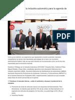 Cuatro pilares de la industria automotriz para la agenda de AMLO.