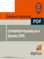 Curso Confiabilidad Impulsada Operador Odr Excelencia Operacional