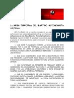 Comunicado de Prensa1