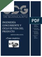Ingeniería Concurrente y Ciclo de Vida Del Producto Reporte
