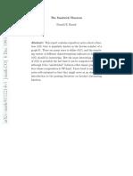 The Sandwich Theorem - Knuth