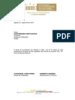 PAL 11-13 S Proyecto Periodo Presidencial