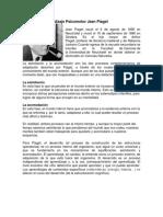 Teorías Del Aprendizaje Psicomotor Jean Piaget Resumen