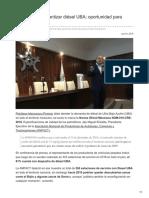 Pemex debe garantizar diésel UBA; oportunidad para importadores.