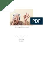 music therapy paper  final portfolio