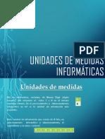 Unidades de Medidas Informáticas
