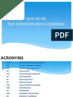 2-2016 NCAE Guidelines.pptx