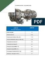 Especificaciones Turbina de Gas Lms100