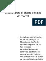 06. Criterios Para El Diseño de Salas de Control