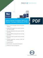 Native Packet Transport Npt Family Brochure