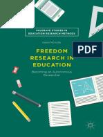 Palgrave Studies in Eduation Research Methods