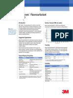 3M NOVEC FC-4430 Fluorosurfactant Product Information (98-0212-4160-3) Dec 2009