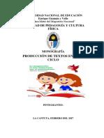 Produccion de Textosdc