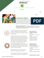 Herbalife - España - Plan de Comidas