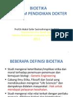 Kuliah Magister Bioetika
