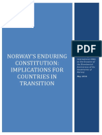 Norway's Enduring Constitution
