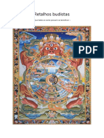 retalhos budistas