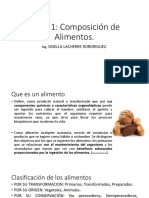 Clase 1 Compocision Quimica de Los Alimentos
