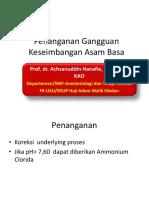 Volume Resuscitation in Shock State Ppds i Prof Hanafi