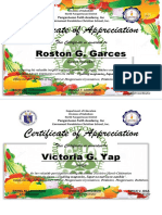 Certificate of App
