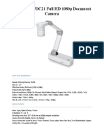 EPSON ELPDC21 Full HD 1080p Document Camera
