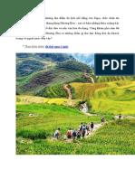 Thung lũng Mường Hoa - nơi hội tụ vẻ đẹp ngất ngây của Sapa