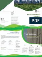 a more eco friendly company brochure