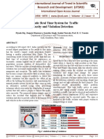 Automatic Real Time System for Traffic Security and Violation Detection