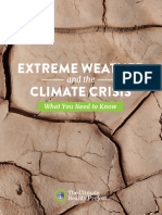 Extreme Weather and the Climate Crisis e Book