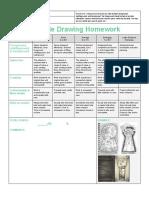 key hole homework rubric