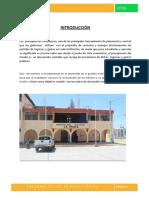 Presupuesto La Huaca Modificado