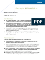 Best Practices Planning SAP S4 HANA