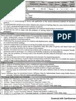 CE 430 Structural Analysis II Syllabus
