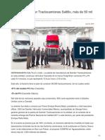 Construirá Daimler Tractocamiones Saltillo, más de 50 mil Cascadia.
