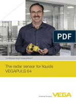 52552 en the Radar Sensor for Liquids VEGAPULS 64
