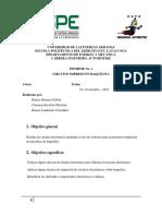 Informe No 0 (Baquelita)