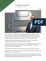 """""""Daimler se puede adaptar al mercado"""""""