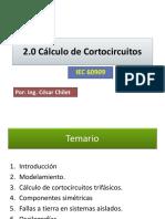 2 Cálculo de Cortocircuitos