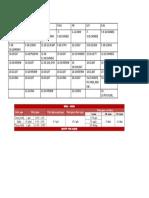 Timetable Hd Dddd