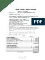 Examen -Parcial II Unidad-Gerencia Financiera