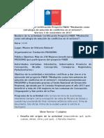 Minuta Certificación FNDR