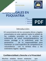 Temas Legales en Psiquiatria- Diapo