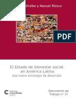 Sônia M. Draibe - El Estado de Bienestar Social en América Latina - Una Nueva Estrategia de Desarrolo - 144 Pag