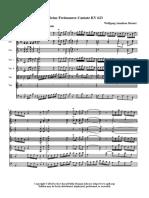 Mozart KV623