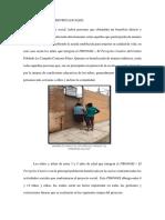 Población y Referentes Locales Proyecto Social La Campiña