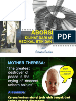 medikolegal aborsi